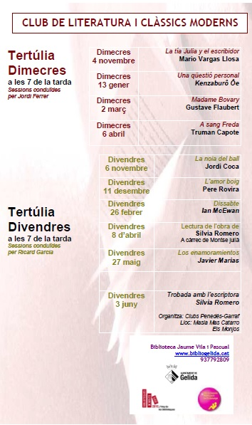 CLUBS LECTURA 15-16