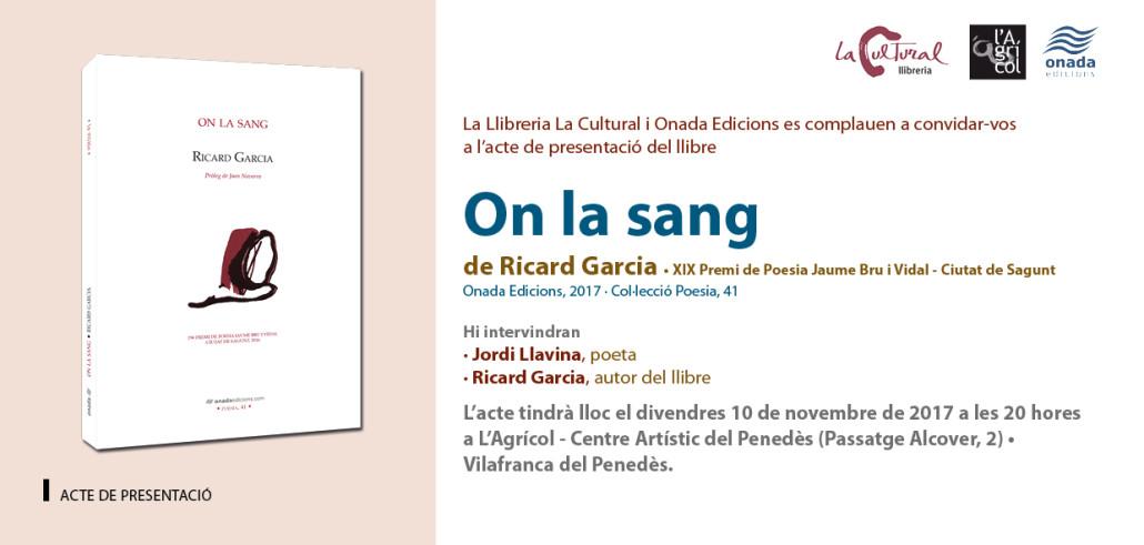 On la sang -GAR- (TAR)Vilafranca